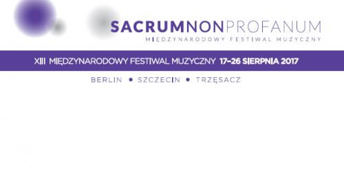 Sacrum non profanum 2017